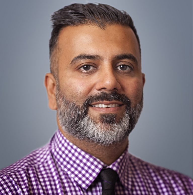 portrait of Dr. Harman Mangat, a dentist at Seycove Dental in North Vancouver, BC