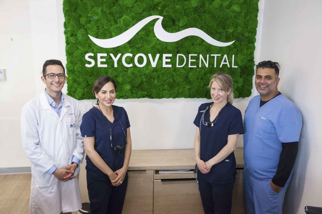 portrait of the dentists at Seycove Dental in North Vancouver, British Columbia